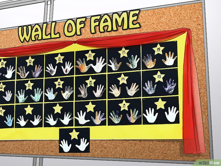 Memajang wall of fame - Prestasi Global